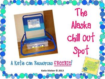 Alaska Chill Out Spot FREEBIE