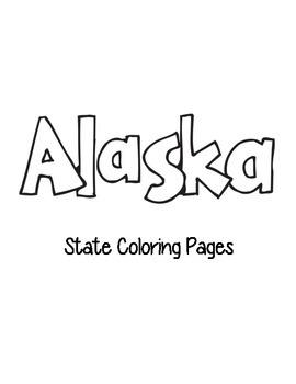 Alaska Coloring Pages