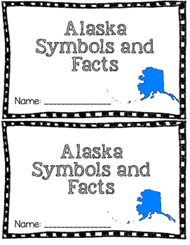 Alaska Facts Mini Book