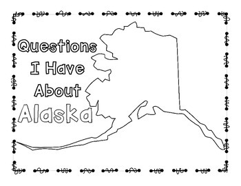 Alaska Graphic Organizers (Perfect for KWL charts and geography!)