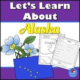 Alaska History and Symbols Unit Study with QR codes