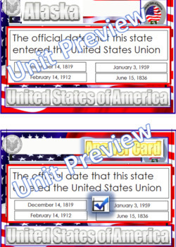 Alaska Information State Symbol Card, Alaska Wordsearch, PDF File