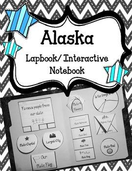 Alaska Lapbook/Interactive Notebook.  United States Geography
