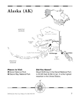 Alaska (Map & Facts)