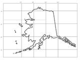 Alaska Map longitude and latitude