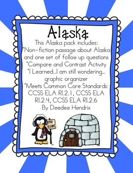 Alaska Non-Fiction Passage