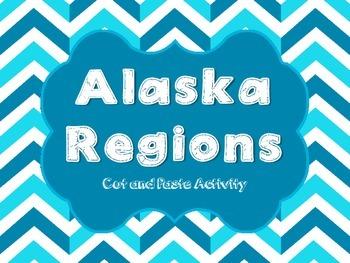 Alaska Regions cut and paste activity