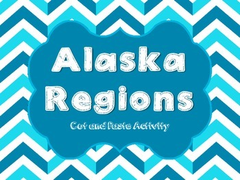 Alaska Regions cut and paste activity
