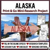 Alaska Research: Print & Go USA Presentation and Speech Te