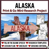 Alaska Research: Print & Go USA Presentation and Speech Te
