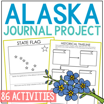 ALASKA History Project, Differentiated State Research Journal {EDITABLE}