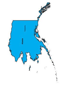 Alaska Word Search