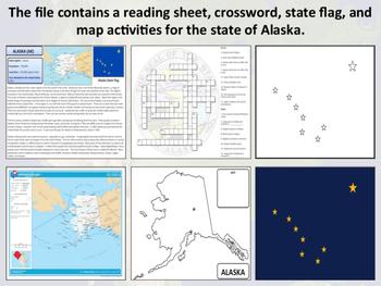 Alaska - State Activity Set