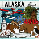 Alaska State Clip Art