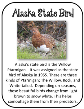 Alaska State History Unit.  U.S. State History.  34 Pages!