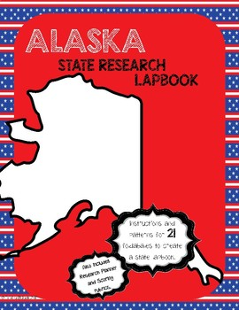 Alaska State Research Lapbook Interactive Project