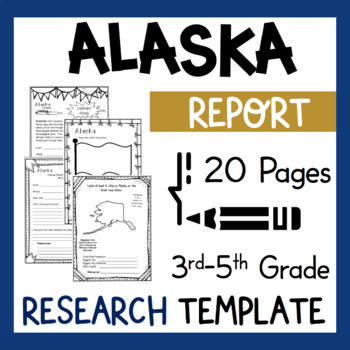 Alaska State Research Report Project Template Bonus Timeli