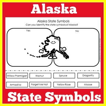 Alaska State Symbols Worksheet