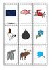 Alaska State Symbols themed Memory Match Game. Preschool Game