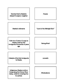 Alaska Trivia Game and Word Spiral  (revised)
