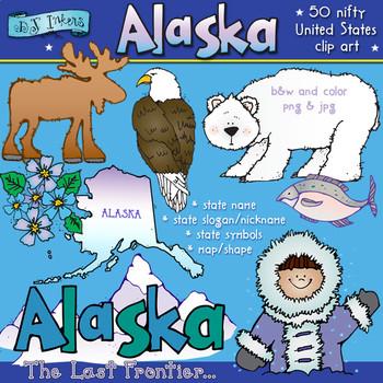 Alaska USA Clip Art Download