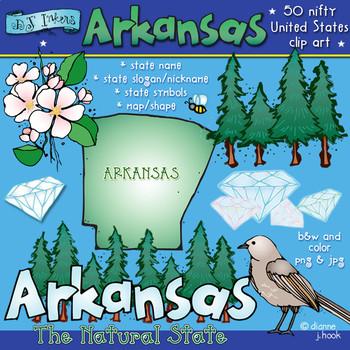 Arkansas USA Clip Art Download