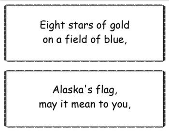 Alaska's Flag Song Bulletin Board Kit