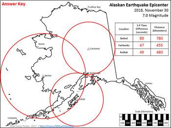 Alaskan Earthquake Epicenter Location Activity (November 30, 2018)
