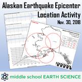 Alaskan Earthquake Epicenter Location Activity (November 3