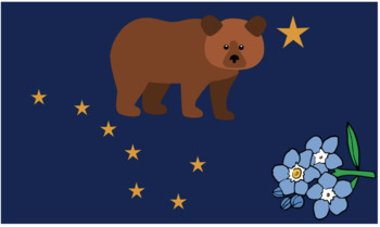 Alaskan Flag Symbolism Bulletin Board Kit