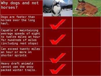Iditarod Dogsled race
