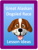 Iditarod dogsled Race lesson ideas