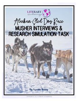 Alaskan Sled Dog Race Musher Interviews and Research Simulation Task
