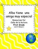 Alba tiene una amiga muy especial -Calle de la lectura- Un