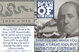 Albany Plan of Union Word Wall Poster