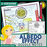 Albedo Effect - Climate Change Science Doodle Note