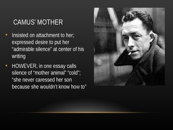 Albert Camus Introductory PowerPoint (The Stranger, Existentialism)