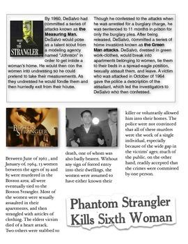 Albert DeSalvo - The Boston Strangler w/key