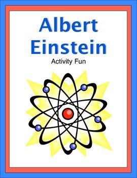 Albert Einstein Activity Fun