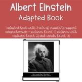 Albert Einstein Biography Adapted Book (3 levels)