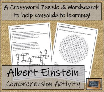 Albert Einstein - Biography Writing Activity
