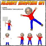 Albert Einstein Cliparts #1