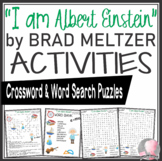 Albert Einstein Activities Crossword Puzzle & Word Search Find Brad Meltzer Book
