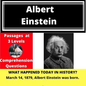 Albert Einstein Differentiated Reading Passage March 14