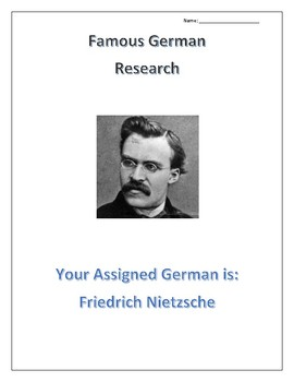 (FAMOUS GERMANS) Friedrich Nietzsche:Scientists, Doctors and Social Sciences