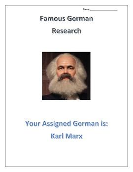 (FAMOUS GERMANS) Karl Marx: Scientists, Doctors and Social Sciences