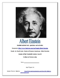 Albert Einstein Project Based Learning Book Unit Grades high 2nd-4th