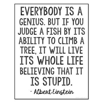FREEBIE!! Albert Einstein Quote Poster