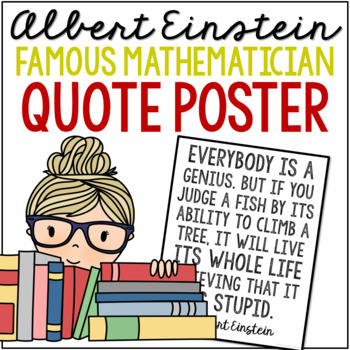 Freebie Albert Einstein Quote Poster By Growing In Grace And Knowledge