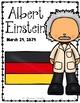 Albert Einstein {Biography Research Trifold, Scientist}